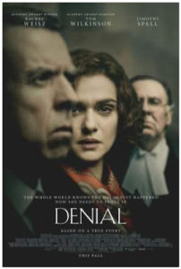 "WELLINGTON:  ""Denial"" Holocaust Film Night @ Penthouse Cinema | Wellington | Wellington | New Zealand"